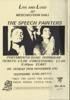 Live Loud Merchistoun Hall Horndean 29 Nov 1992 001