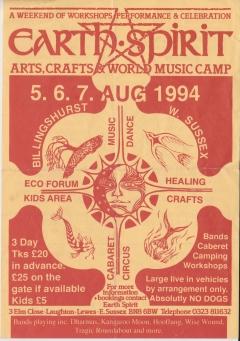Earth Spirit Lewes 5-6-7 Aug 1994 001