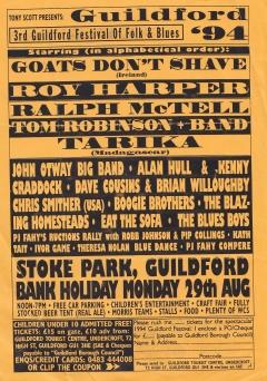 Guildford Festival Mon 29 Aug 1994