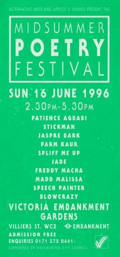 Midsummer Poetry Festival June 1996 001