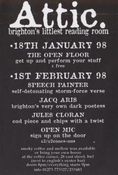 Attic Brighton 1998 001