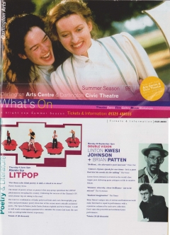 Darlington Arts Centre Summer 1998 double