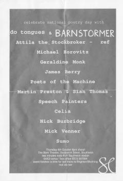Barn Theatre Southwick Thurs 6th Oct 001