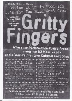 Gritty Fingers Walpole Arms Woolwich