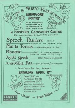 Hampden Comm Centre London Sat 17 April 001