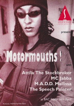 Motormouths BAC Lavender Hill Battersea 001