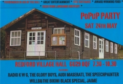 Pop Up Party Redford Village Hall West Sussex 001
