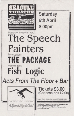 Seagull Theatre Lowestoft  Sat 6 April 001