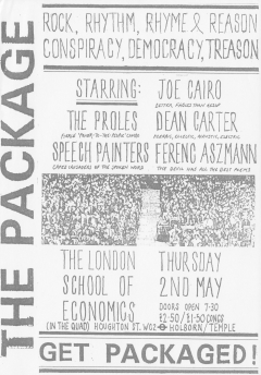 The Package London SChool of Economics Thurs 2 May 002