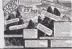 Hard Edge Red Lion Soho Mon 29 July 1991 001
