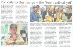 Haslemere Fringe Review 001